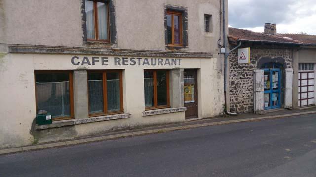 faisabilité économique ancien restaurant Chadron Haute-Loire Auvergne