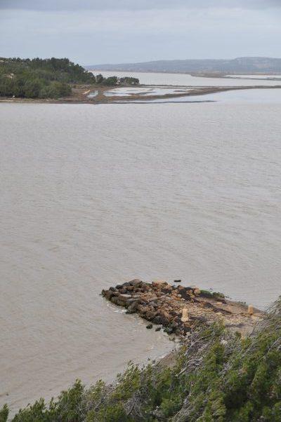 Ile de l'Aute vue de Port Mahon