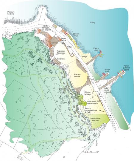 Projet de restructuration du site de Port Mahon et de la base Nautique